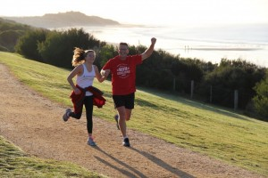 Torquay parkrun at Fisherman's Beach on the Surf Coast Walk