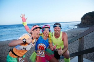 Trail runners at Bells for the SurfCoast Afterglow