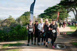 Surf Coast Trekkers at Point Danger in Torquay